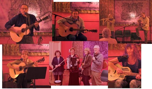 Live music at Hollocombe Music Club
