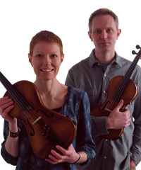 Live music from Nick Wyke & Becki Driscoll