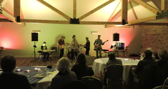 Live music in The Music Room from The Strange and the Beautiful